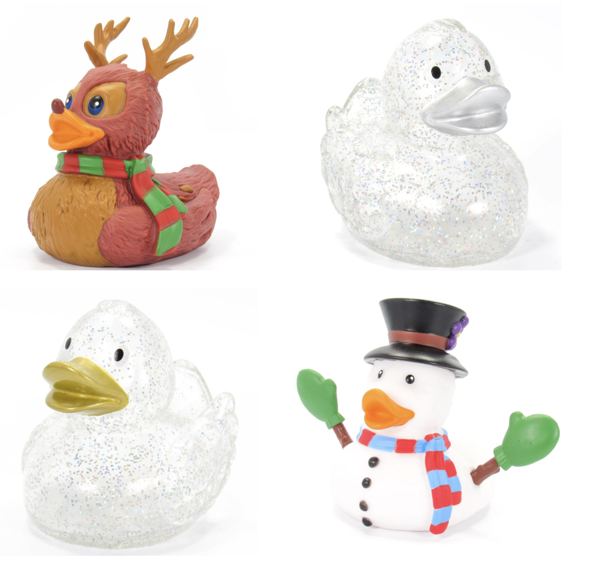 Holiday's Rubber Duck Collection- NEW Glitter Styles